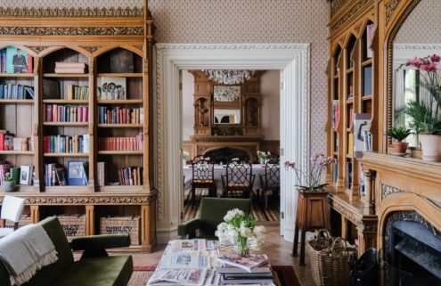 Peek inside Eagle & Hodges' very British makeover of the Oakley Court hotel in Windsor