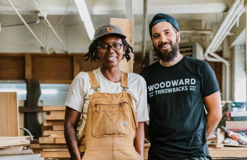 How I Live: Bozenka Shepherd of Detroit furniture studio Woodward Throwbacks
